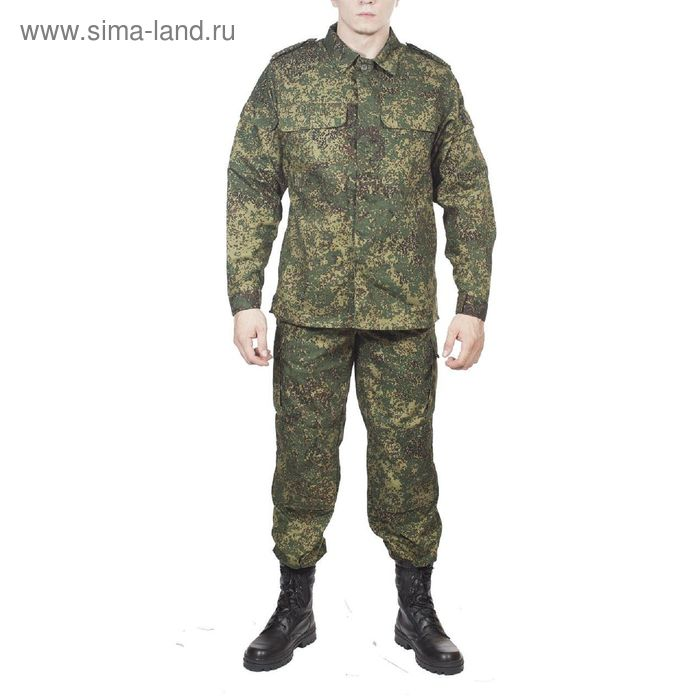 Костюм летний МПА-20 полевой (ВК М-192) зел. цифра МО Грета 50/3