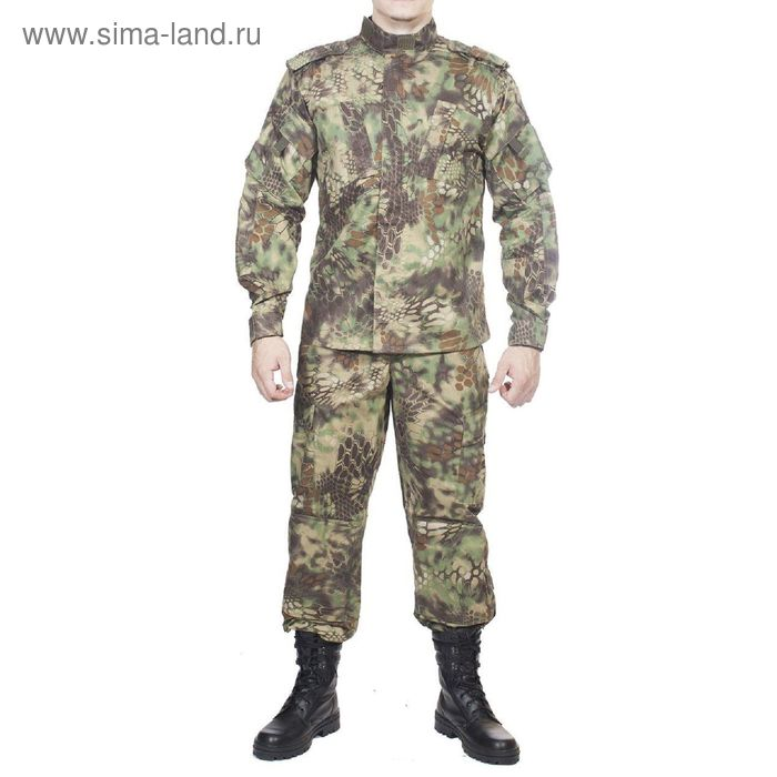 Костюм летний МПА-04 (НАТО-1) КМФ питон лес Мираж 60/6
