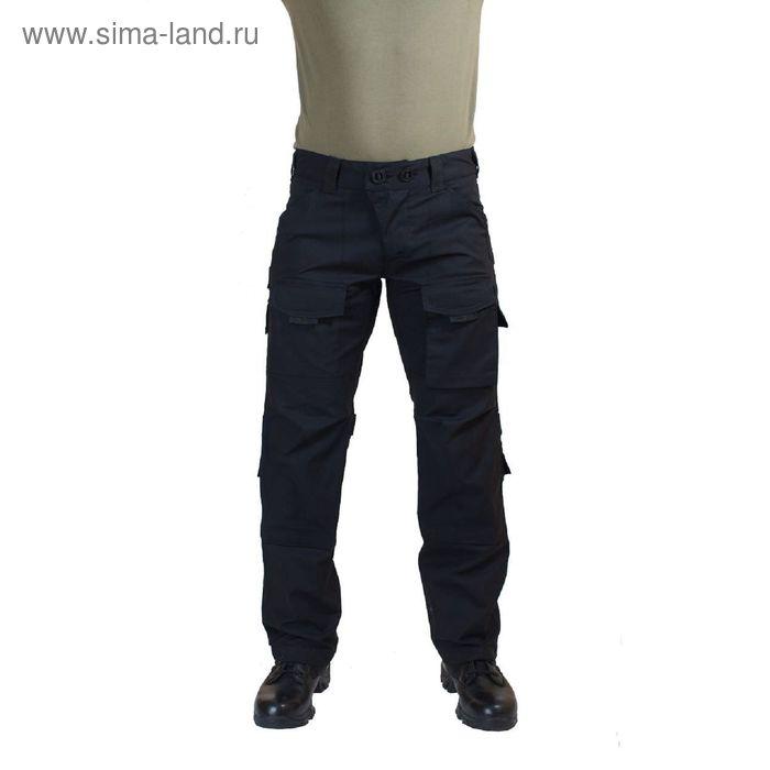 Брюки МПА-56 тактические черные тк.Рип-Стоп 48/3