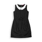 Платье для девочки, рост 122 см, цвет чёрный