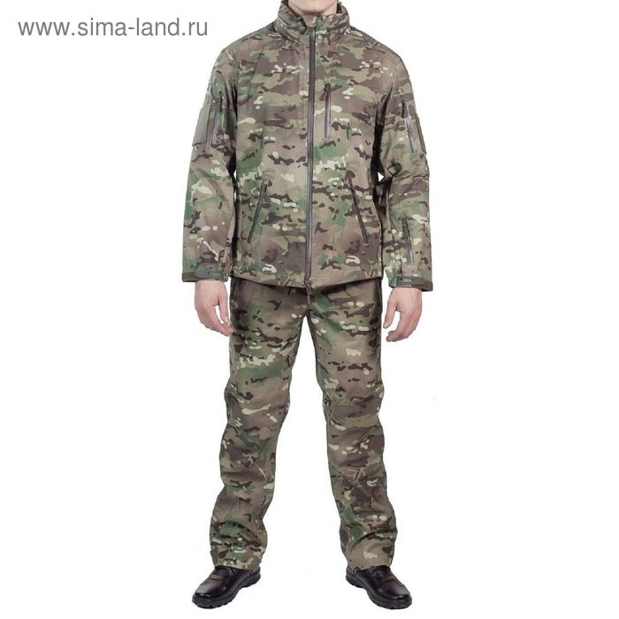 Костюм влагозащ МПА-25 (курточная мембрана) мультикам 60/4