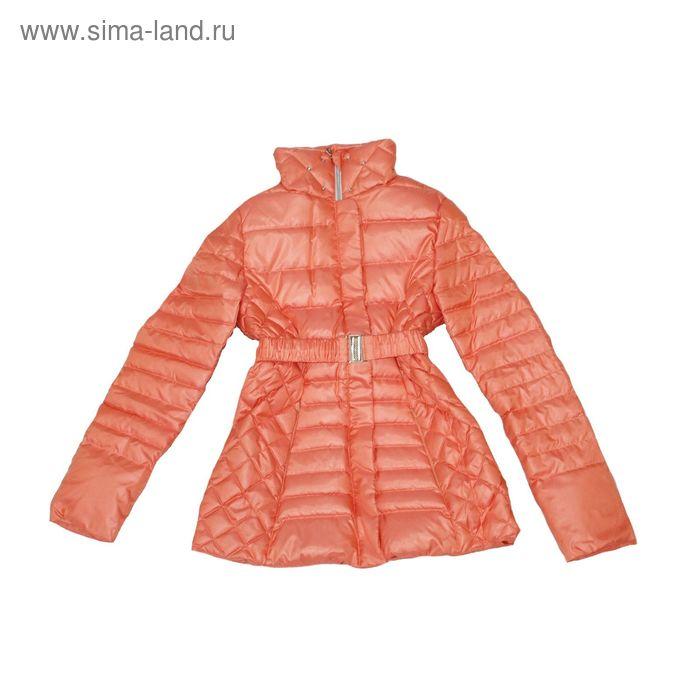"""Куртка для девочки """"Анжелика"""", рост 164 см (84), цвет персиковый 41-010/1"""