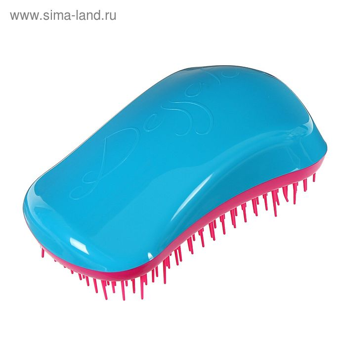 Щётка для распутывания волос, цвет бирюза/фуксия