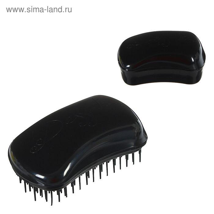 Щётка для распутывания волос, цвет чёрный