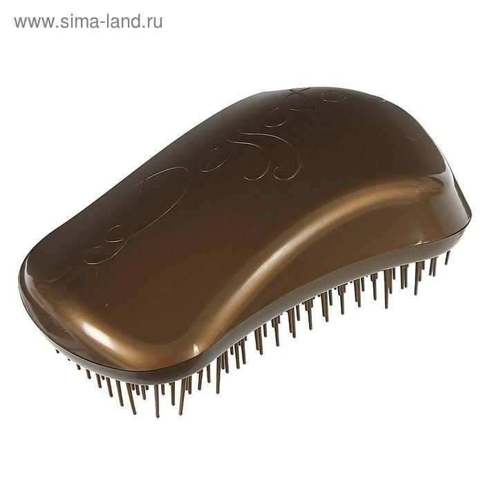 Щётка для распутывания волос, цвет золотистый