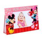 """Фотоальбом-открытка на 8 фото """"Ты - моя любовь!"""", Микки Маус и друзья"""