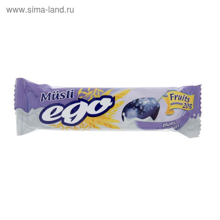 """Батончики мюсли """"Эго"""" слива в йогурте 25г/35шт"""