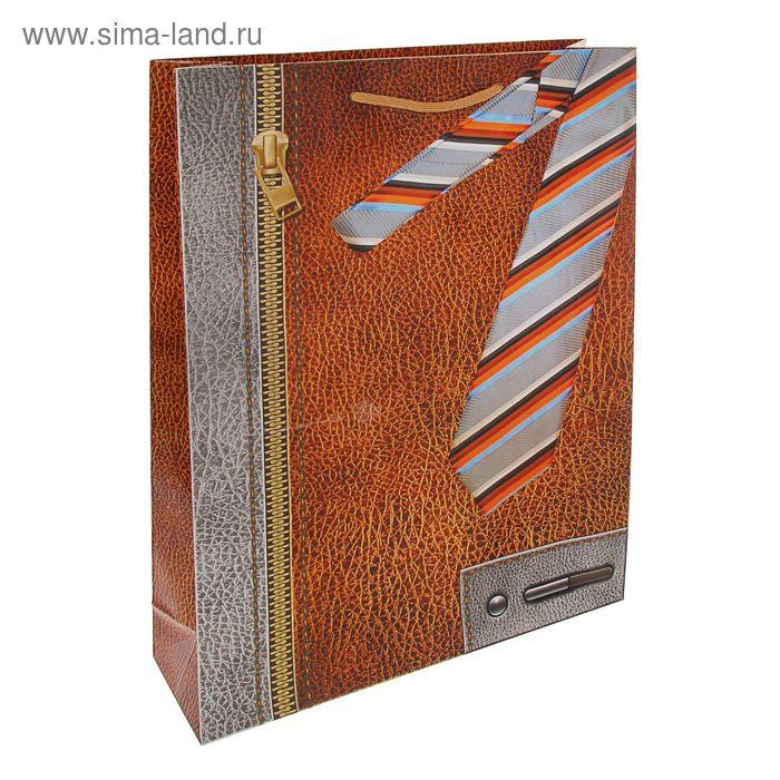 """Пакет подарочный """"Деловой стиль"""" 47 х 33 х 10 см"""