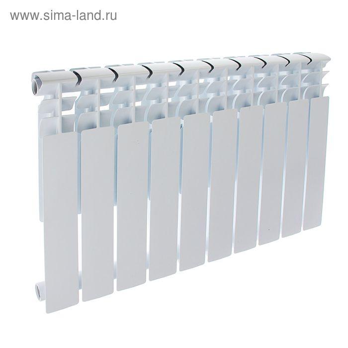 Радиатор Оазис, алюминиевый, литой, 500/80, 10 секций