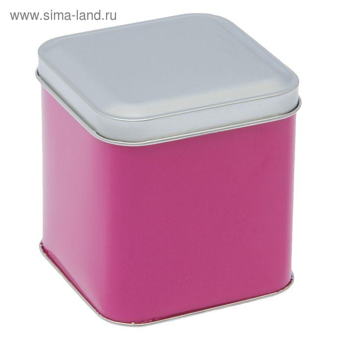 """Банка для сыпучих продуктов 800 мл """"Гармония красок"""" прямоугольная, 9х9 см, h=9,3 см"""