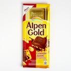 Шоколад Альпен Голд 90г Соленый арахис и Крекер