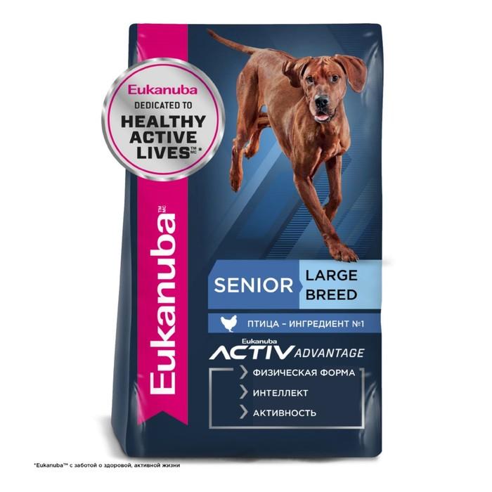 Сухой корм EUK Dog для пожилых собак крупных пород, 4 кг