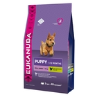 Сухой корм EUK Dog для щенков мелких пород, 3 кг