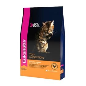 Сухой корм EUK Cat для взрослых кошек, с домашней птицей, 2 кг