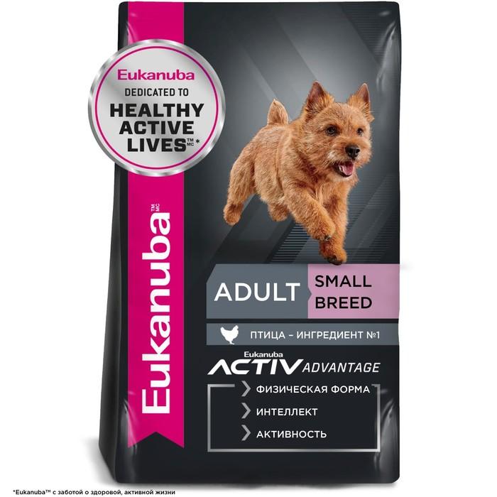 Сухой корм EUK Dog для взрослых собак мелких пород, 15 кг