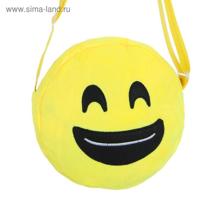 "Мягкая сумочка ""Смайлик"" улыбается"