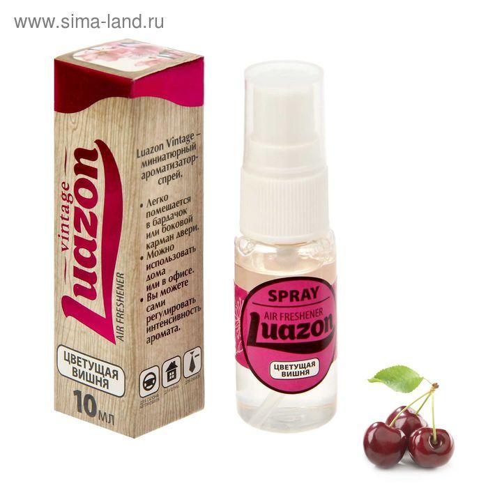 """Ароматизатор-спрей """"Цветущая вишня"""", 10 мл, Luazon Vintage"""
