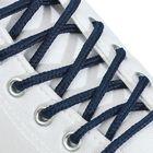 Шнурки для обуви круглые, ширина 5мм, 160см, цвет синий