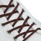 Шнурки для обуви круглые, ширина 3мм, 160см, цвет коричневый