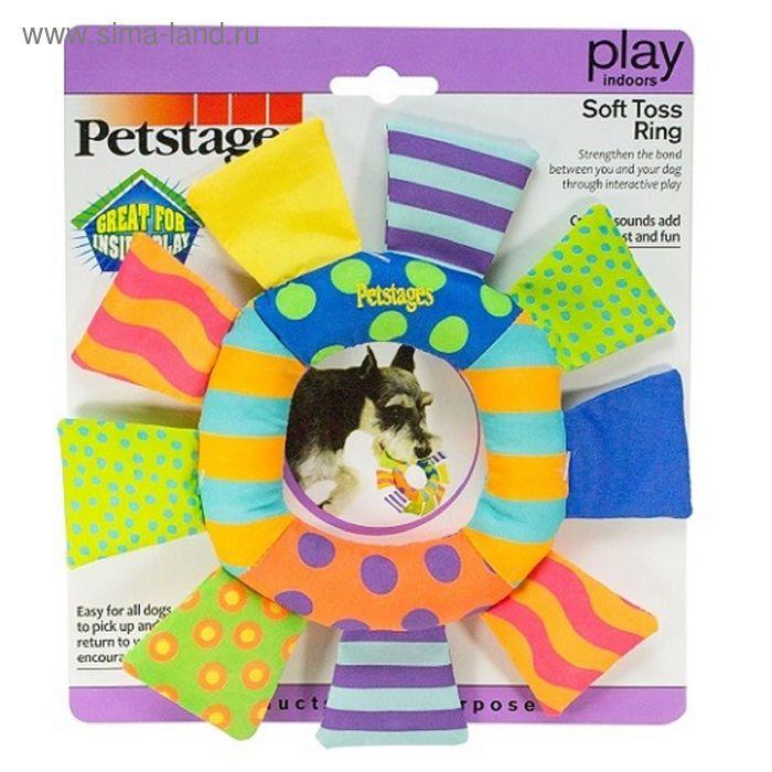 """Игрушка Petstages  """"Кольцо текстильное"""" для собак"""