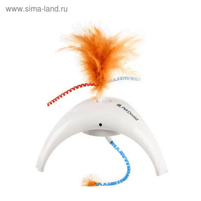 Электронная игрушка GiGwi электронная игрушка для кошек Pet Droid, Фезер Спиннер