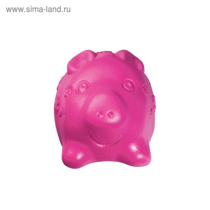 """Игрушка Kong  Tuff 'N Lite """"Свинка"""" для собак, малая, 7 см"""
