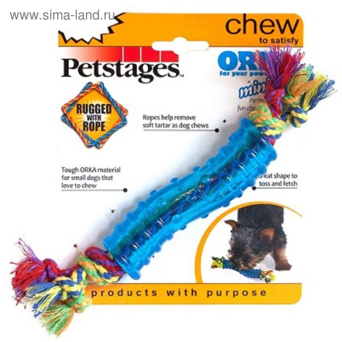 """Игрушка Petstages  Mini """"ОРКА палочка"""" для собак, маленькая"""