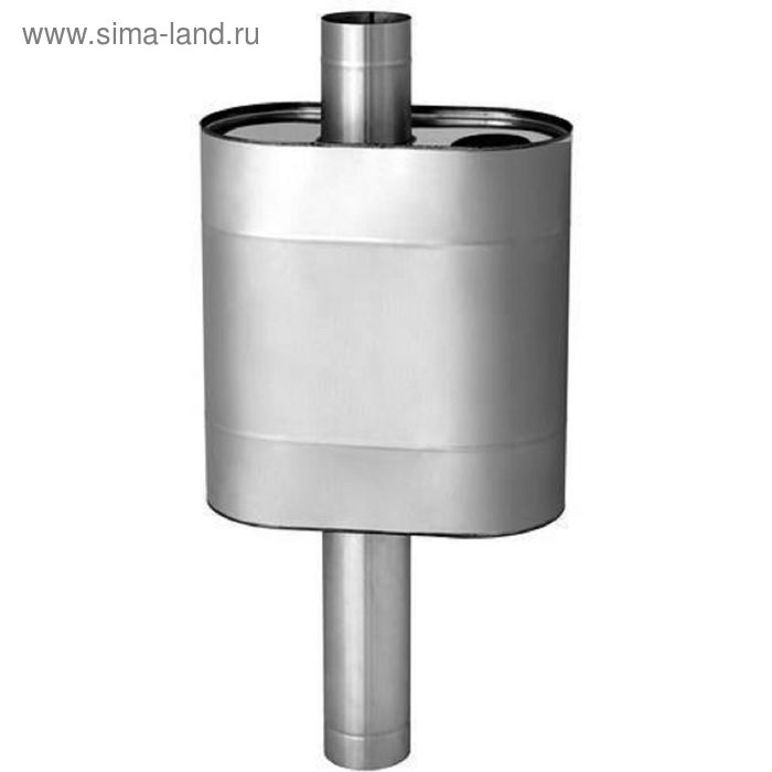 Бак Феррум Комфорт самоварного типа, 50 л, нержавеющий AISI 201/1,0 мм, d115 мм, эллипс
