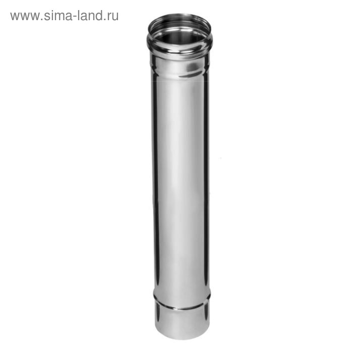 Дымоход Феррум нержавеющий 439/0,8 мм, d 150, L=0,5 м