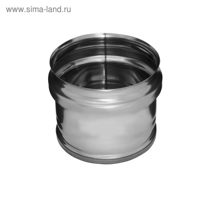 Заглушка Феррум М внешняя нержавеющая 430/0,5 мм, d 202