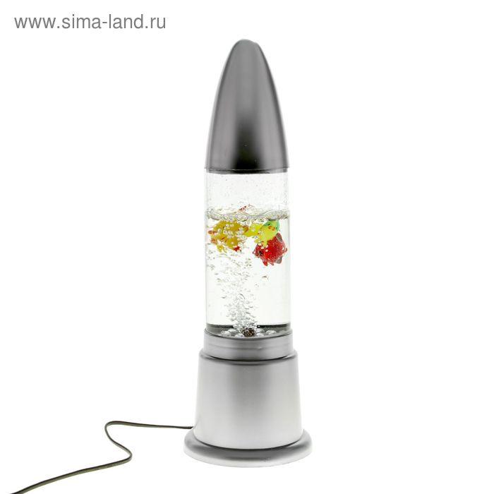 """Лава-лампа """"Ракета"""""""