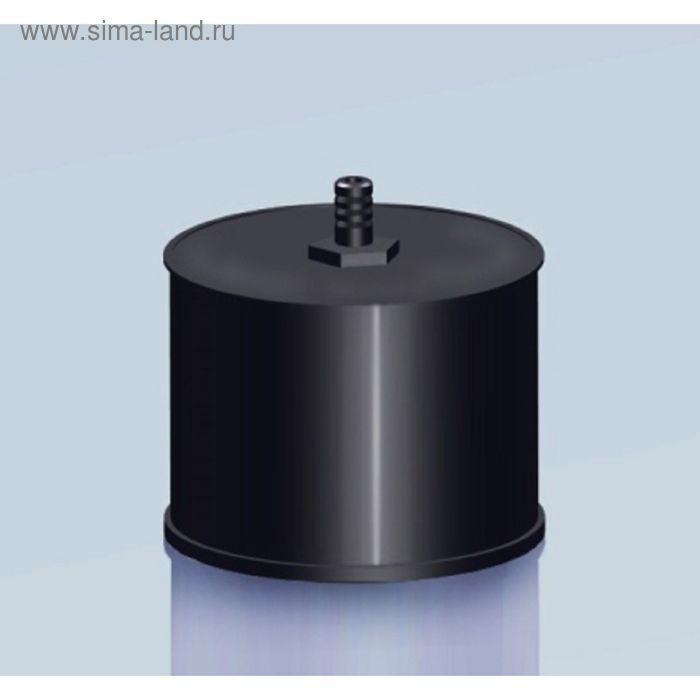 Заглушка Agni М с конденсатоотводом, эмалированная, 0,8, d-120