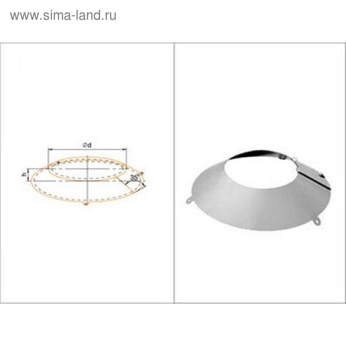 Фланец Феррум нержавеющий 430/0,5 мм, d 200-210