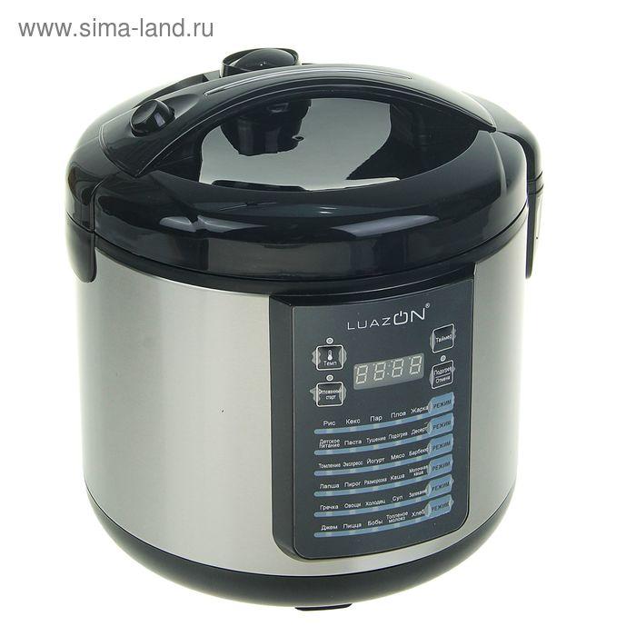 Мультиварка LuazON LМS-9504, LED, 900 Вт, 5 л, 30 программ, йогуртница