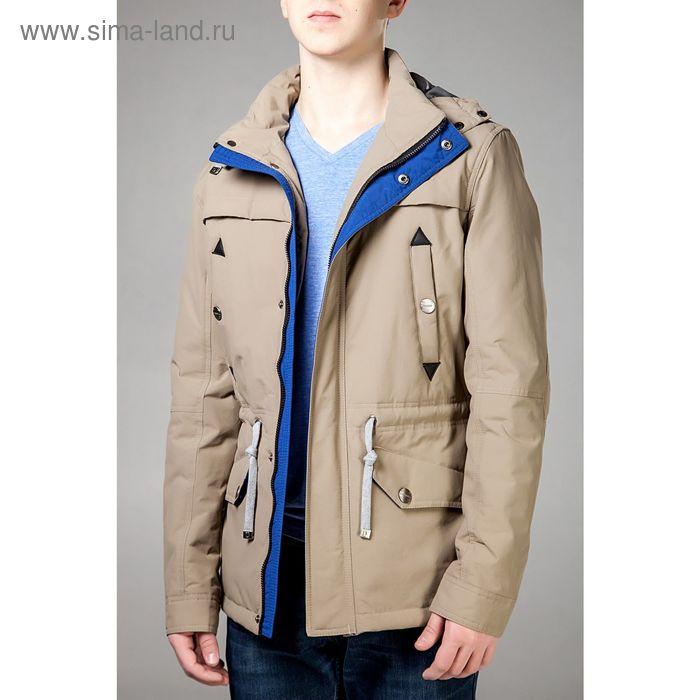 Куртка мужская демисезонная, размер 46, цвет бежевый DG 111-100