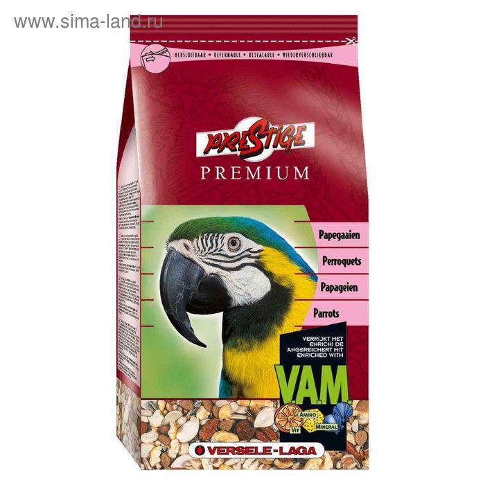 Корм VERSELE-LAGA  Prestige PREMIUM Parrots  для крупных попугаев, 1 кг