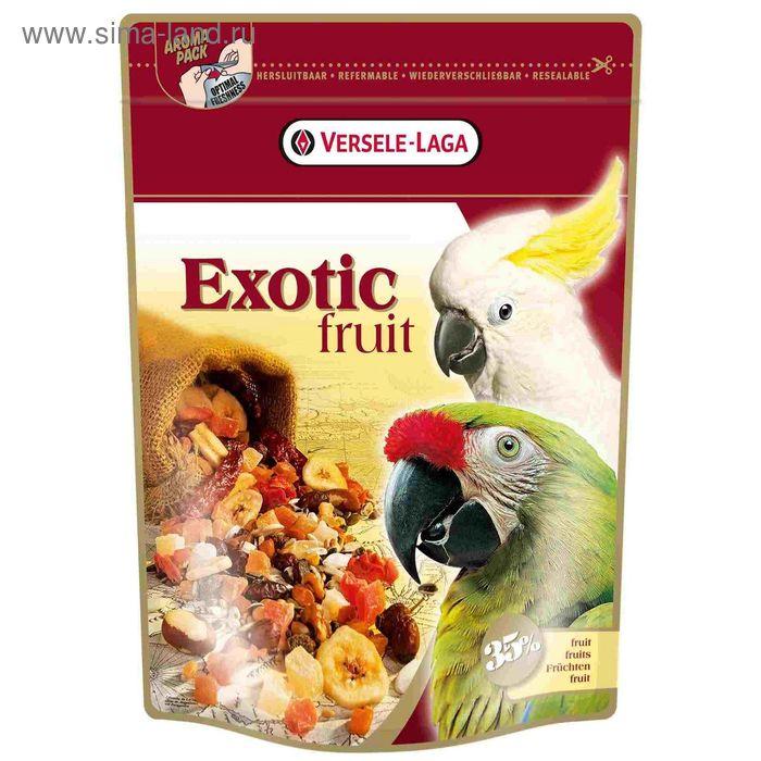 Корм VERSELE-LAGA Exotic Fruit для крупных попугаев с фруктами, 600 г