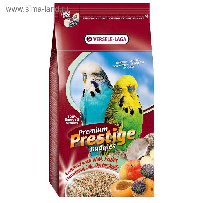 Корм VERSELE-LAGA  Prestige PREMIUM Budgies  для волнистых попугаев, 1 кг