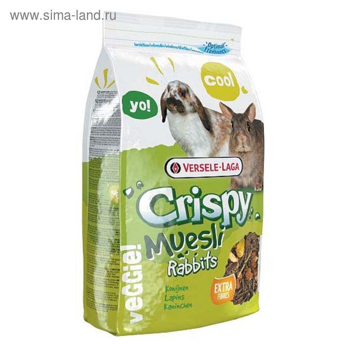 Корм VERSELE-LAGA Crispy Muesli Rabbits  для кроликов, 2,75 кг