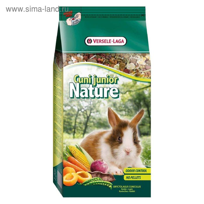 Корм VERSELE-LAGA Nature Cuni Junior для крольчат, 750 г
