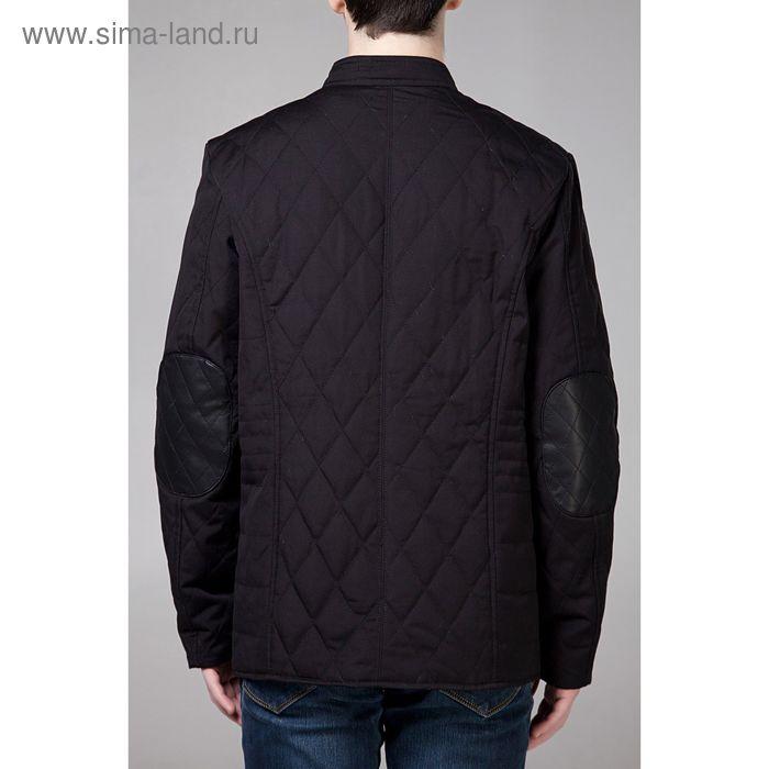 Куртка мужская демисезонная, размер 52, цвет чёрный DG 63-100