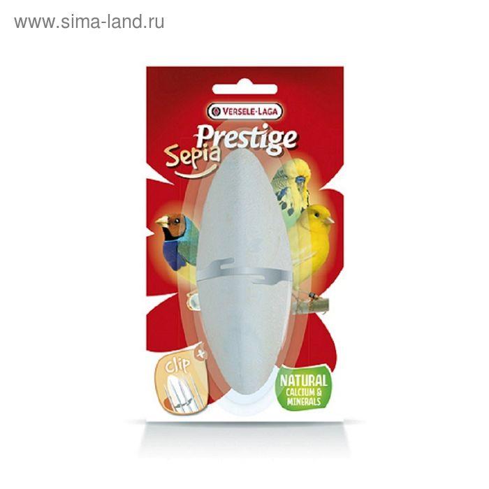 Кость каракатицы VERSELE-LAGA  Prestige Sepia Mineral для попугаев, 12 см