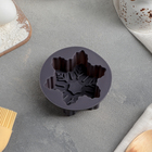 """Форма для выпечки """"Снежинка"""" 10х10х3,5 см, цвета МИКС"""