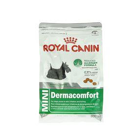Сухой корм RC Mini Dermacomfort для собак с чувствительной кожей, 800 г