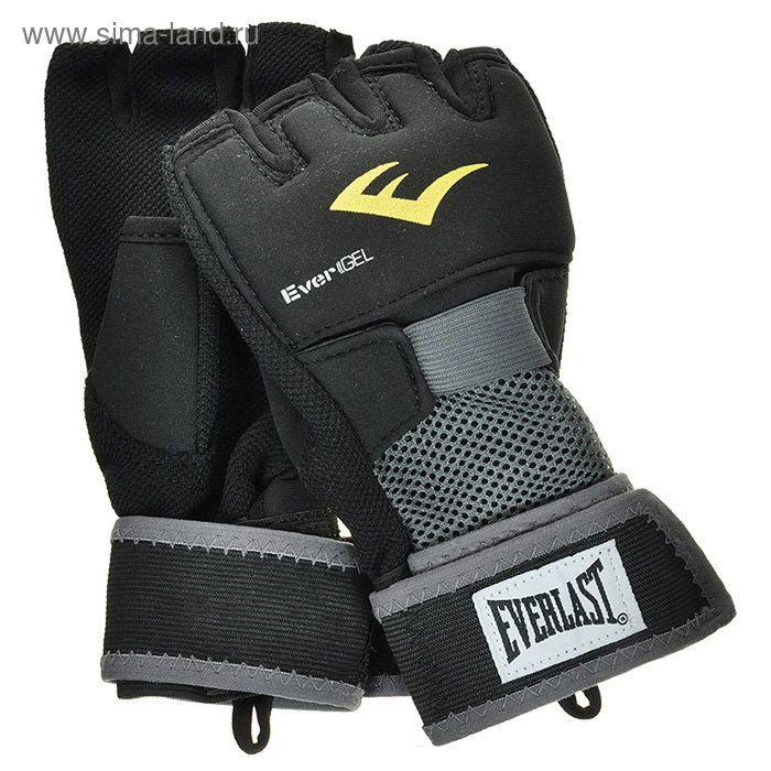 Перчатки гелевые Evergel XL черн.