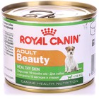 Влажный корм RC Adult Beauty Mousse для собак, для кожи и шерсти, ж/б, 195 г
