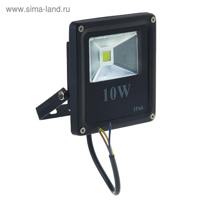 Прожектор светодиодный серия SLIM 10W, IP66, 900Lm, 6000К БЕЛЫЙ ХОЛОДНЫЙ УЦЕНКА