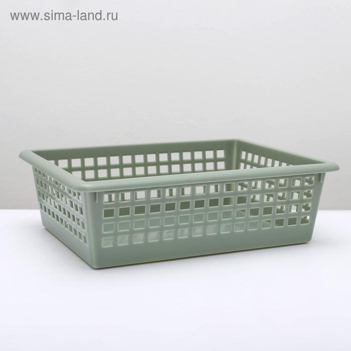 Корзинка универсальная 31х40х13 см, цвет МИКС