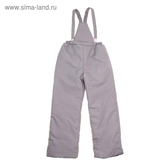 Полукомбинезон для мальчика, рост 140 см, цвет серый (арт. SH-K)