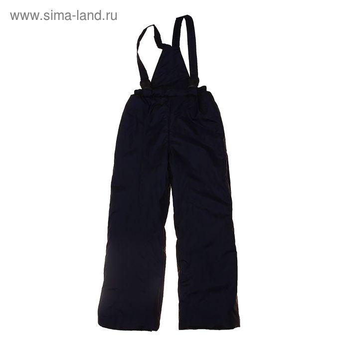 Полукомбинезон для мальчика, рост 104 см, цвет чёрный (арт. SH-K)
